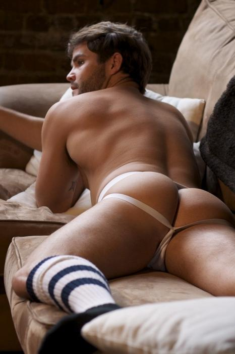 Jocks n Socks on Couch
