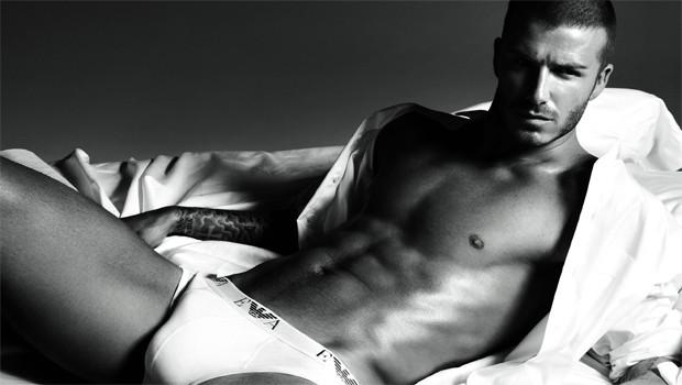 David Beckham Emporio Armani Cover