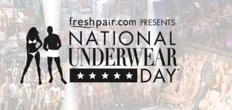 National Underwear Day Banner Ad