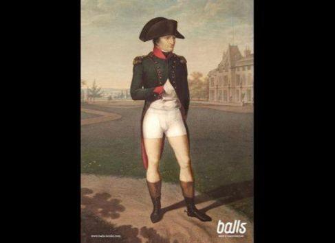 Napoleon Underwear Ad
