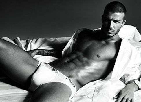 Dave Beckham Underwear Ad
